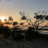 Sunrise at Inskip Point